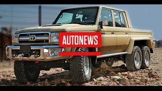 Шестиколесный Toyota Land Cruiser 70 6x6