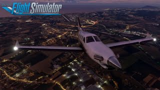 Volo Serale Ancora Verona Con TBM 930 - Flight Simulator 2020 Ita Carriera OnAir #8