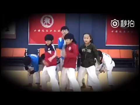Lâm Thu Nam Repost Weibo : 龙拳小子最新视频2016.12