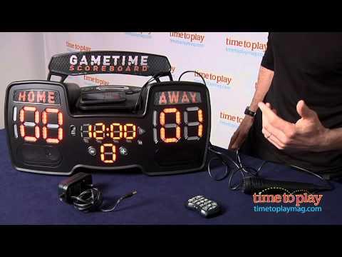Gametime Scoreboard from CSE Games