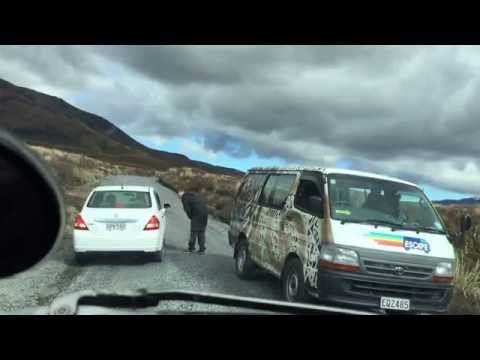 New Zealand - Driving in a Mazda Bongo