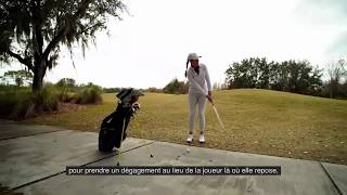 Règles de golf 2019 : Substituer une balle est toujours autorisé lors d'un dégagement