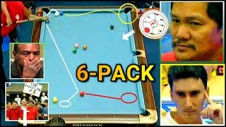 EFREN REYES 6-PACK RUN NEVER SEEN BEFORE