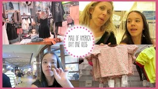 MALL OF AMERICA: DAY 1 VLOG! {American Apparel, Macarons, and Nonstop Shopping!}
