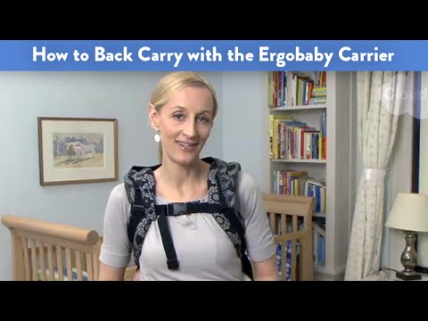 How to Back Carry With the Ergobaby Carrier | CloudMom