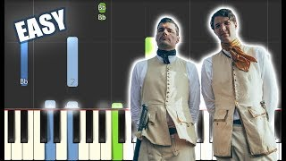 Burn The Ships - for KING & COUNTRY | EASY PIANO TUTORIAL by Betacustic