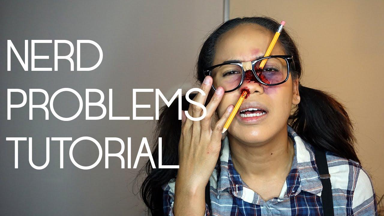 NERD PROBLEMS [HALLOWEEN TUTORIAL] || OFFICIAL KILLJOYY