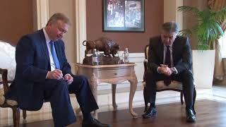 Կարեն Կարապետյանն առանձնազրույց է ունեցել է Բելառուսի իր գործընկերոջ հետ