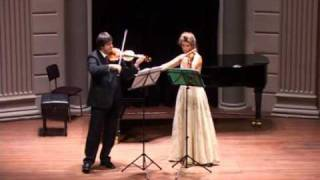 Prokofiev Sonata for Two Violins: III. Commodo (quasi Allegretto)