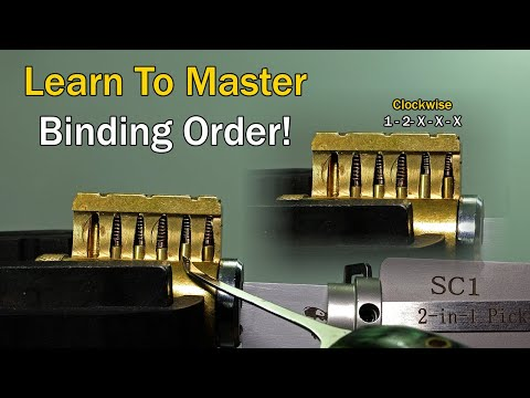 [370] Binding Order Explained Simply | Learn Lock Picking!