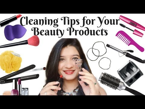 Cleaning Tips for Your Beauty Products | Easiest & Cheapest Way | Beauty hacks | AVNI