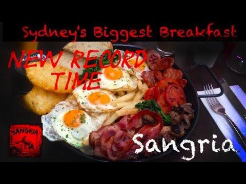 SYDNEYS BIGGEST BREAKFAST RECORD IN 2:29!!