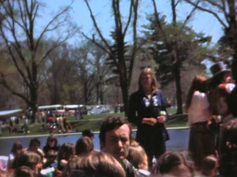 Filming Of The Movie Hair In DC 1978