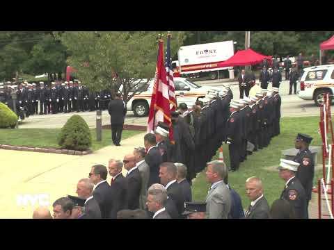 Funeral Service For FDNY Lieutenant Brian J. Sullivan