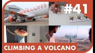 Sicily Holiday Vlog #41 : Climbing an Active Volcano!  |  Shaaba.