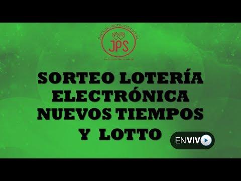 Sorteo Lotería Nuevos Tiempos N°16307 y Lotto N°1801. MIércoles 14 de Febrero 2018. JPS (Noche)