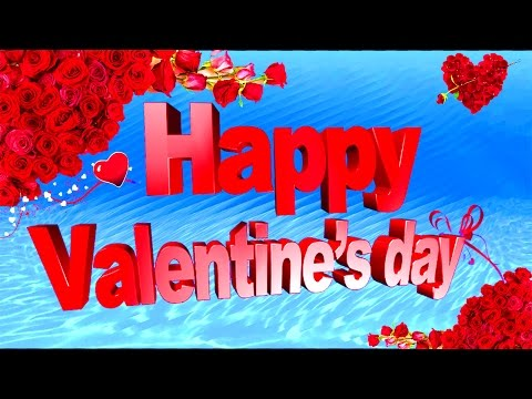 Happy Valentine's Day 2017 Wishes.Whatsapp Valentines Greetings-3d Animation||Hyder Ali@