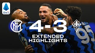 INTER 4-3 FIORENTINA | REAL AUDIO EXTENDED HIGHLIGHTS | A THRILLING LATE COMEBACK! 🔥⚫🔵🤪