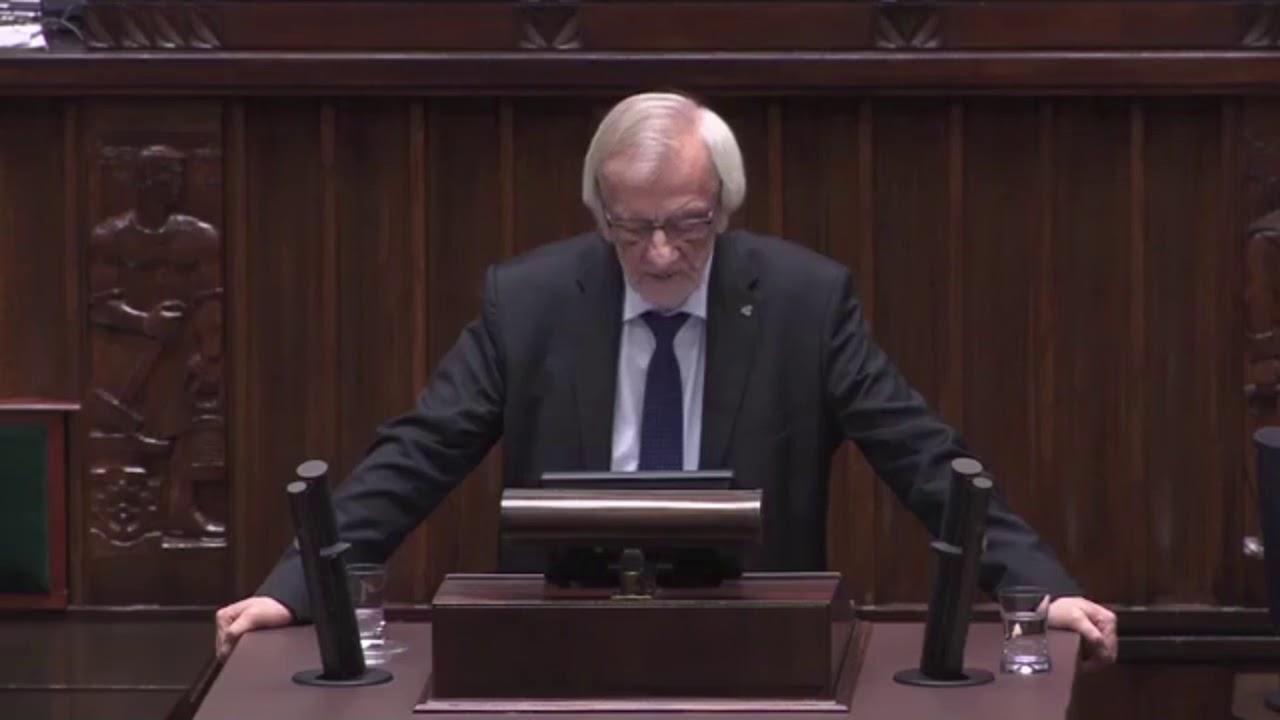 Ryszard Terlecki – Wystąpienie Przewodniczącego Klubu PiS w Sejmie