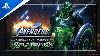 Marvel's Avengers - Omega-Level Threat: Family Reunion Trailer   PS5, PS4