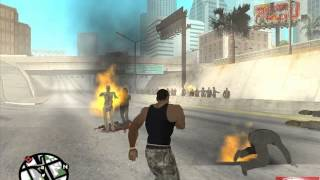 cj vs los zombies de san andreas loquendo