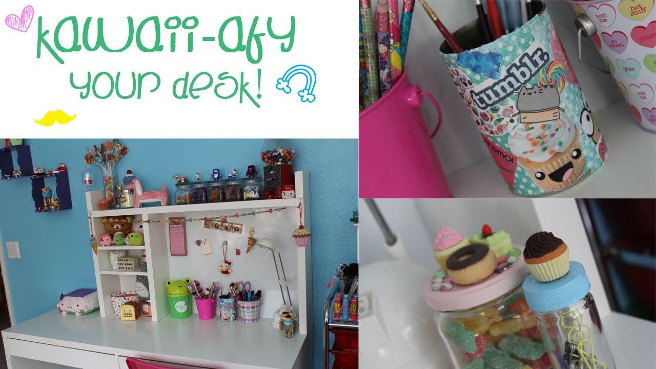 DIY Kawaiiafy Your Desk  YouTube