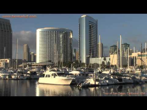 San Diego 7, California Tour Collage Video - youtube.com/tanvideo11