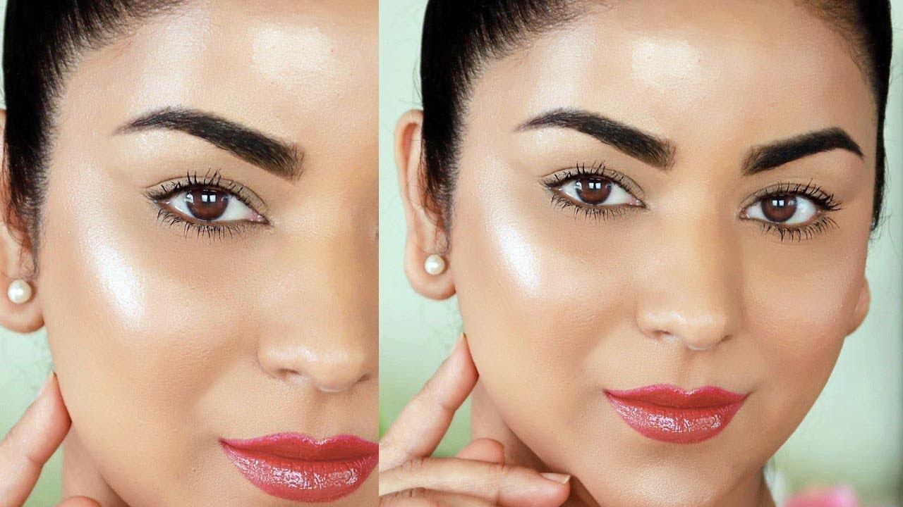 Easy 8-Step Glowing/Dewy Makeup Tutorial (No Highlighter!!)