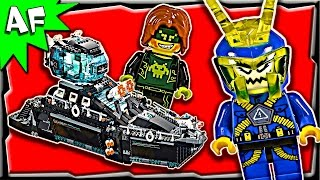 Lego Ultra Agents OCEAN HQ 70173 Stop Motion Build Review