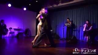 Tango Instructors:Sergio Bustos & Jorgelina Casella