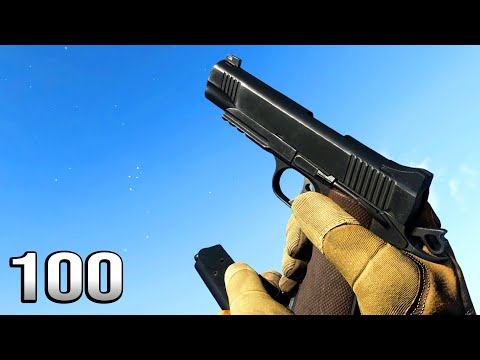 M1911 - Reload Animation in 100 Different Games |