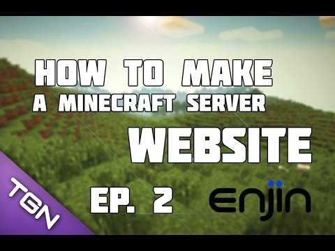 Ep2 .How To Make A Minecraft Server Website With Enjin? How To Make A Header? [Free][Easy]