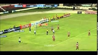 CRB 0 x 3 Bahia - GOLS - Brasileiro Serie B - 23/05/2015