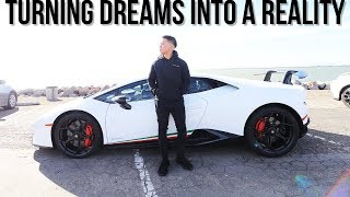 TAKING DELIVERY OF MY 2018 LAMBORGHINI HURACAN PERFORMANTE! TURNING DREAMS INTO A REALITY!