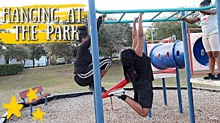Hanging At The Park | Family Vlogs | JaVlogs