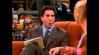 Friends Best Ross Moments Part 1