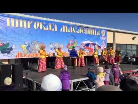 Масленница в Улан Баторе. Масленичные гуляния в Монголии -  2015.