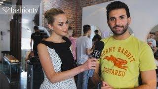 Neville Hair & Beauty Salon with Noelle Reno, London Olympics 2012 | FashionTV