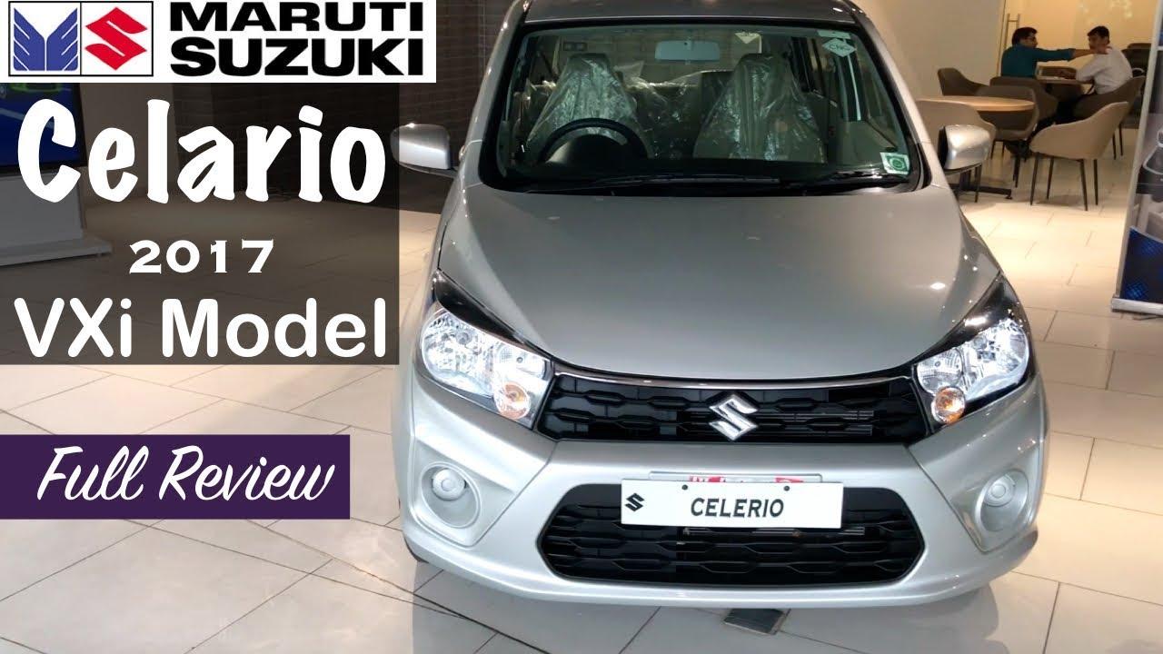 Maruti Celerio Facelift 2017 Vxi Model Interior Exterior Walkaround