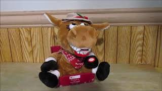 Animated Singing Dancing Christmas Donkey All I Want for Christmas is My Two Front Teeth