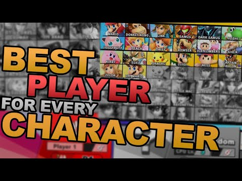 Best Player With Each Character In Smash Ultimate (#1 Mario - #18 Dr. Mario)