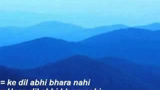 abhi na jao chodkar hindi karaoke