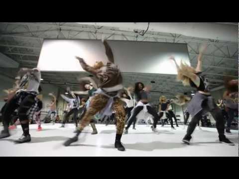 Beyoncé Super Bowl Halftime Show Rehearsal: Day 1