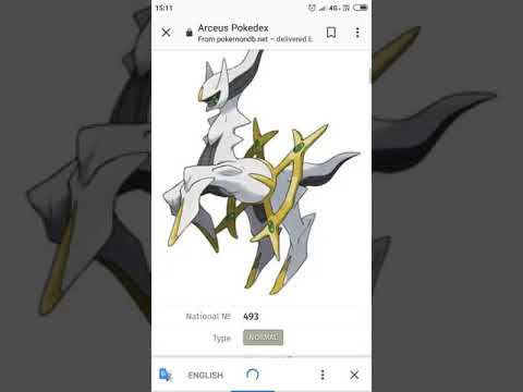 One Pokémon That Can Defeat Arceus Youtube
