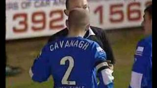 Exeter City- Accrington Stanley 05-06 Cavanagh Horror Tackle