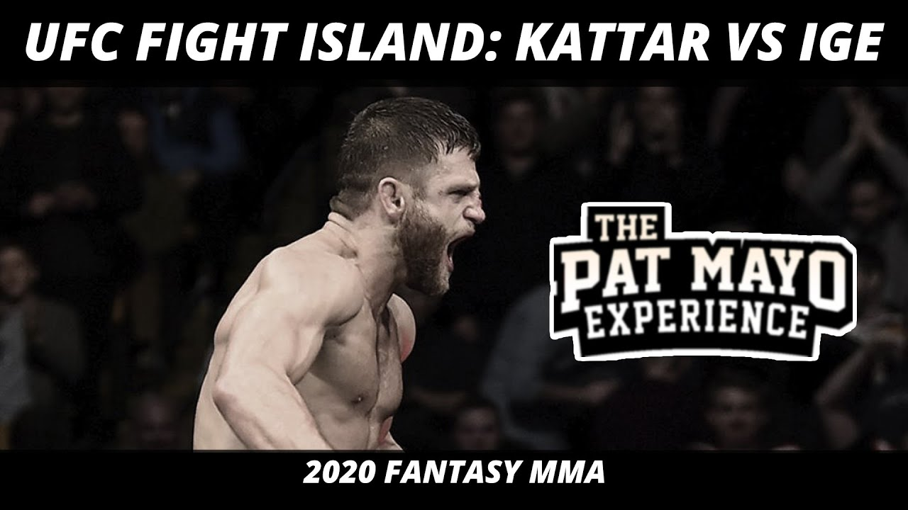 UFC Fight Island Picks and MMA Predictions — Kattar vs Ige Picks & DraftKings Fight Previews