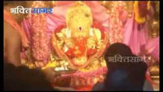 Vinayaki Chaturthi - Aarti from Siddhivinayak Mandir (Prabhadevi - Mumbai) 3-2-2014