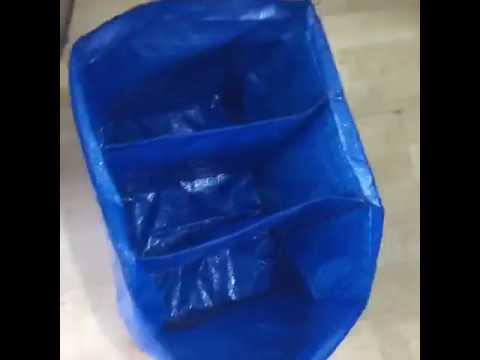 hot sales 981fd dd853 Ikea sneakers bag Ikea gadget for kicks custom yeezy