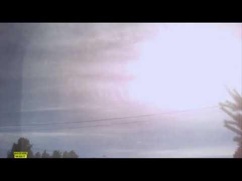 EISCAT HAARP IN ACTION! Chemical Rape April 21 2018 Scandinavia, Norway, Hedmark county