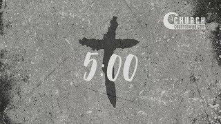 Concrete Grunge Cross Countdown